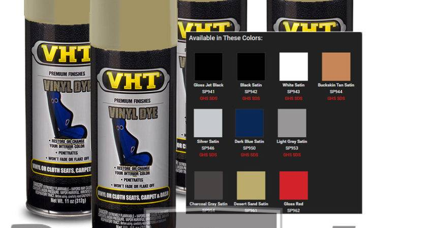 Vht Vinyl Spray Paint Dye Buckskin Tan Seat