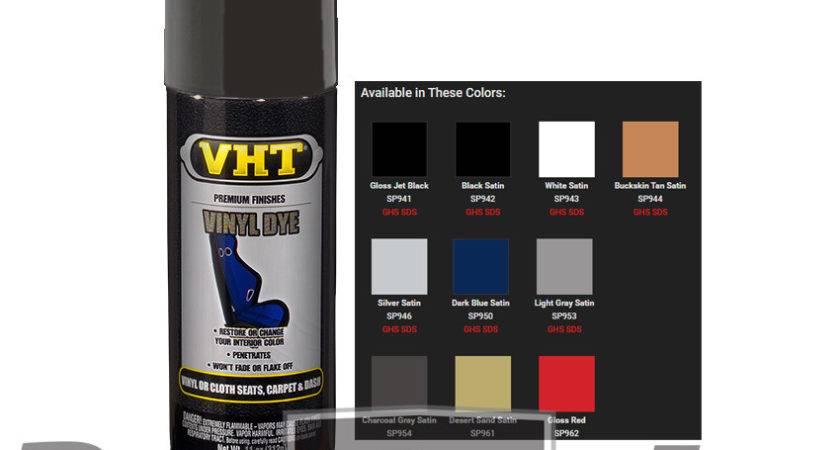 Vht Vinyl Spray Paint Dye Charcoal Grey Satin Gray
