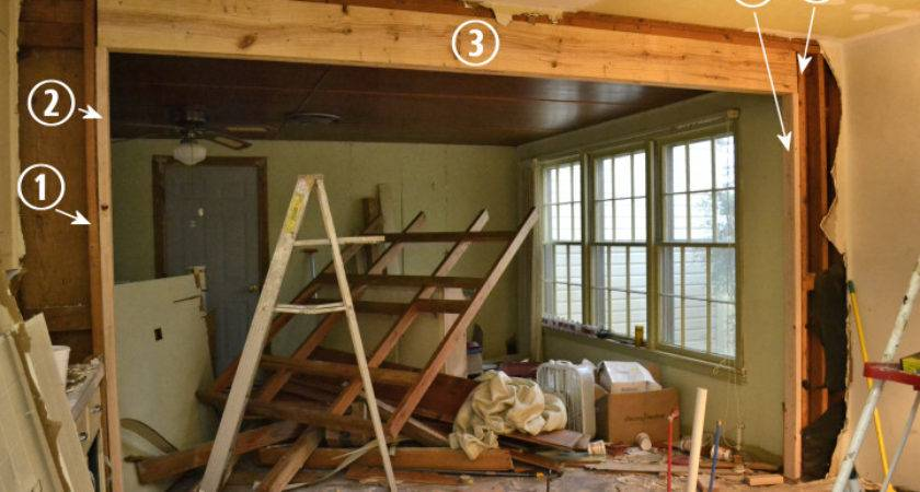 Victory Mine Load Bearing Wall Removed