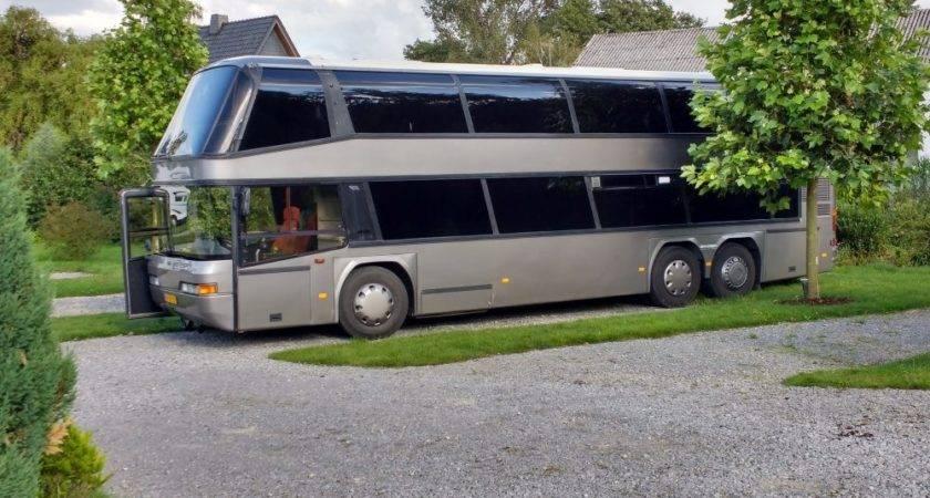 Video Tour Double Decker Bus Conversion