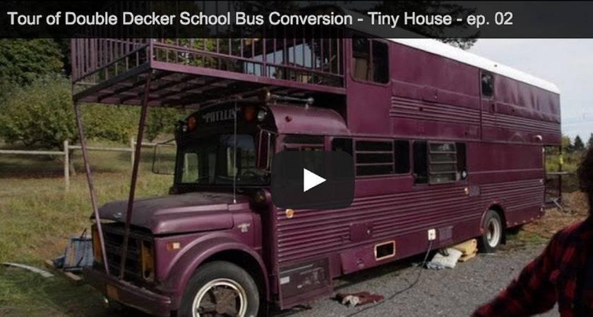 Video Tour Double Decker School Bus Conversion