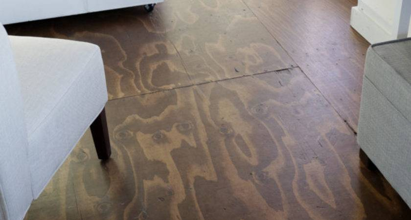 Videohow Stain Plywood Floor Subfloor Flooring Tiny