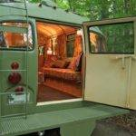 Viking Short Bus Converted Into Cabin Wheels
