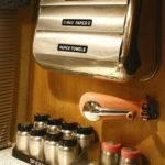 Vintage Airstream Interior Kitchen Ascessories