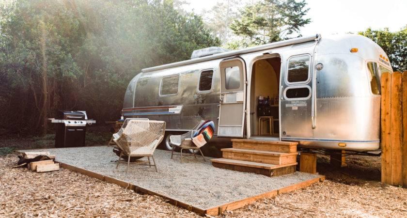Vintage Airstream Mendocino Grove Hipcamper