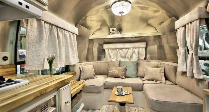 Vintage Airstream Trailer Interiors Athelred