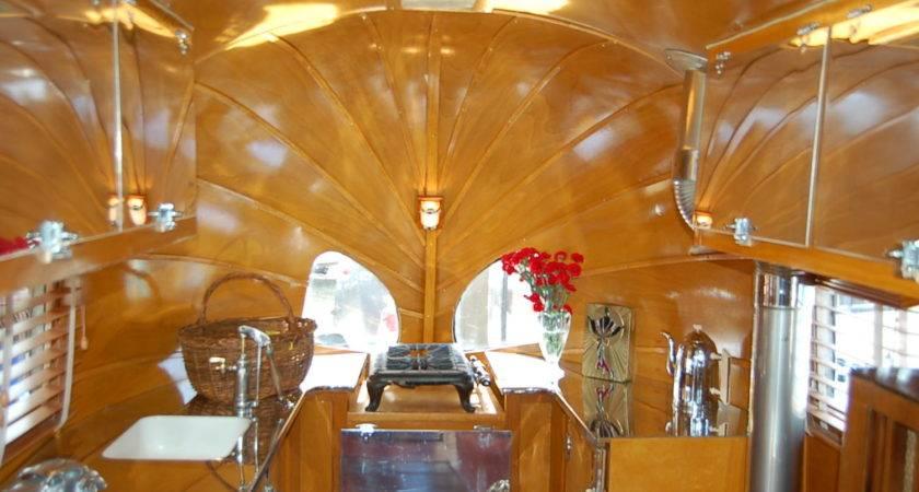 Vintage Airstream Trailer Interiors Oldtrailer