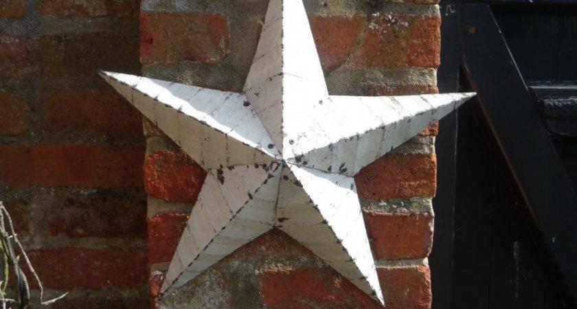Vintage Amish Barn Stars Accessories Glass