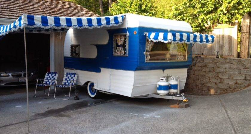 Vintage Awnings Accentuate Your Trailer