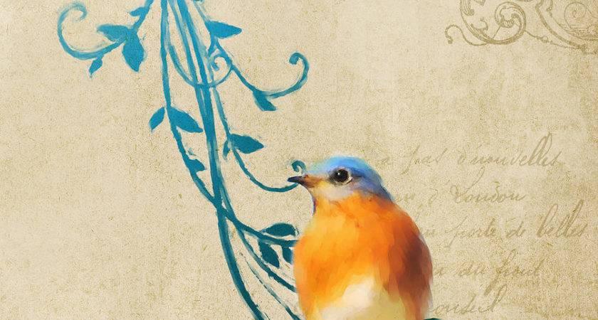 Vintage Bird Paintings Pixshark