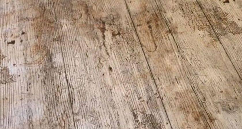 Vintage Brown Oak Wooden Plank Rustic Wood Effect Pvc