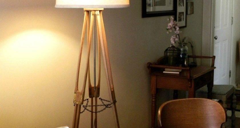 Vintage Camera Tripod Lamp Mad Crafts
