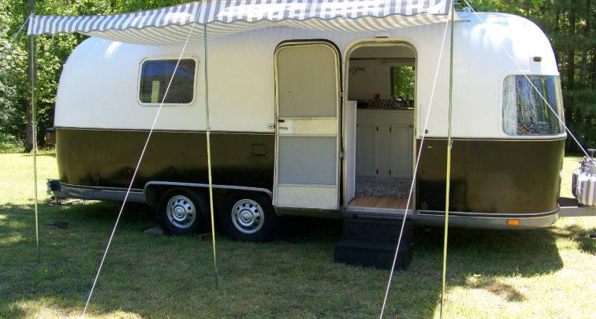 Vintage Camper Awning Argosy Airstream