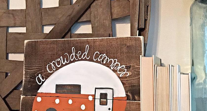 Vintage Camper Home Decor Tailgate Clemson Tigers