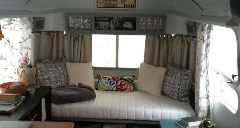 Vintage Camper Interior Ideas Pop