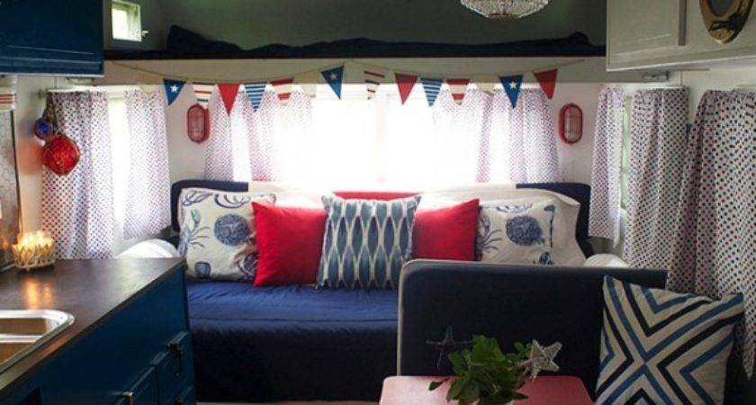 Vintage Camper Makeover Travel Trailer Decorating Ideas