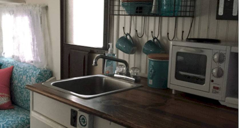Vintage Camper Trailer Interior Remodel Ideas Decoredo