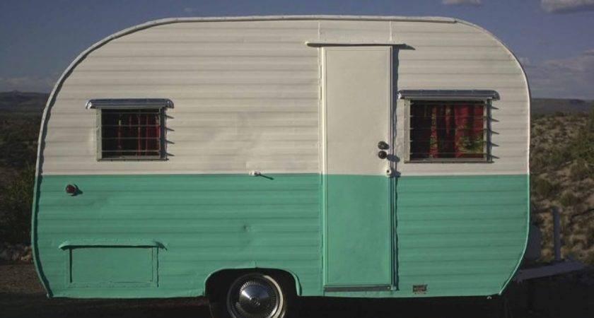 Vintage Camper Trailer