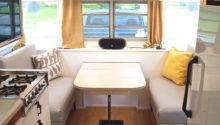 Vintage Camper Turned Glamper Diy Renovation Noshery