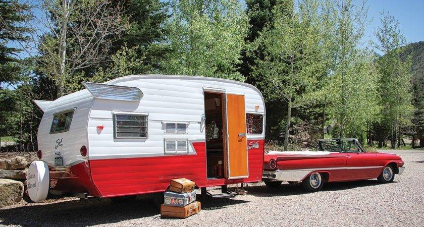 Vintage Camping Trailers Pixshark
