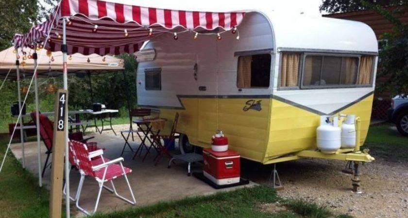 Vintage Camping Trailers Retro Hobby Vogel Talks Rving
