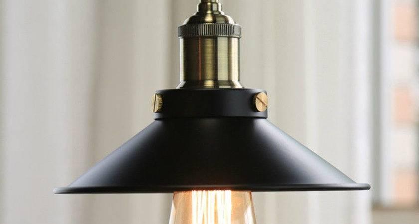 Vintage Industrial Style Retro Metal Pendant Light Ceiling