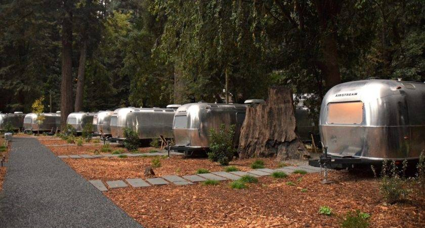 Vintage Inspired Trailer Parks Airstreams All Dwell