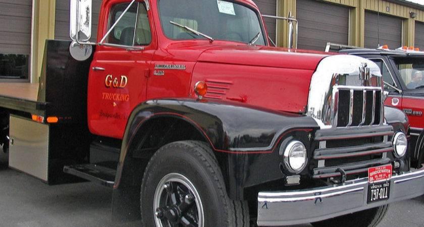 Vintage International Flatbed Truck Flickr Sharing