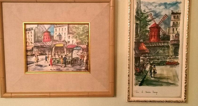 Vintage Mid Century Arno Paris Prints Watercolors Set