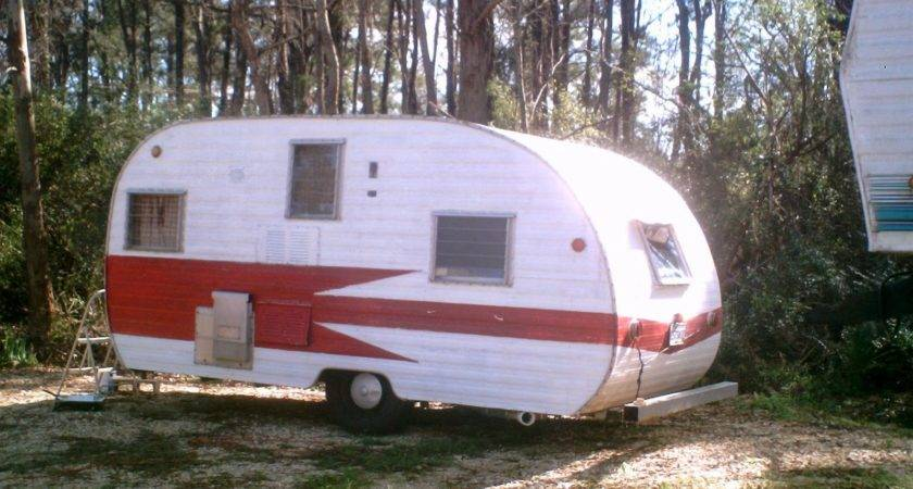 Vintage Mobile Scout Travel Trailer Camper