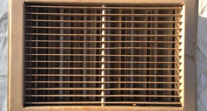 Vintage Salvaged Floor Wall Heat Vent Register Grate