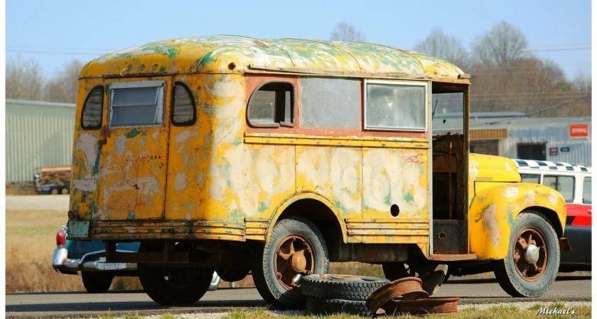 Vintage School Buses Sale