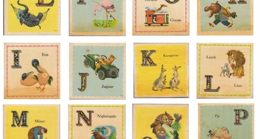 Vintage School Clip Art Illustrations