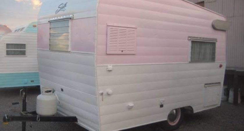 Vintage Shasta Compact Travel Trailer Camper