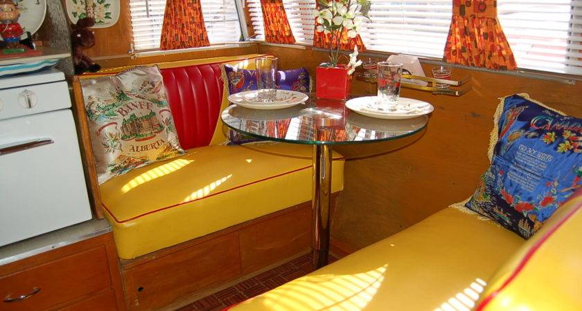 Vintage Shasta Trailer Interiors Oldtrailer