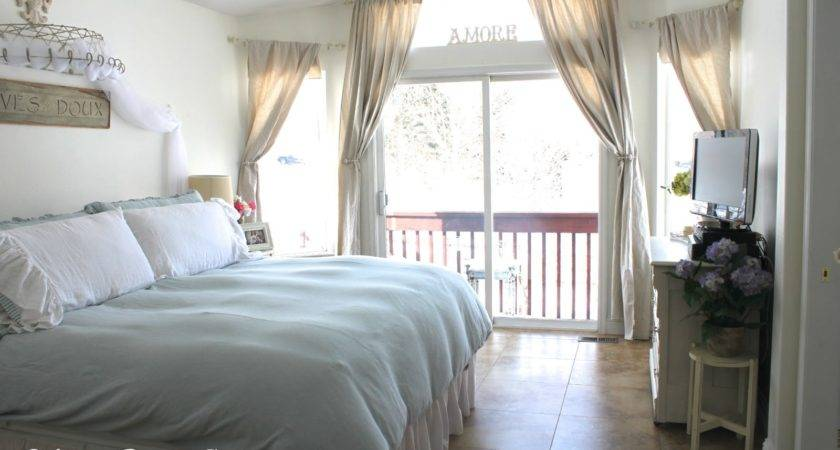 Vintage Sparkle Chic Shabby French Master Bedroom Redo