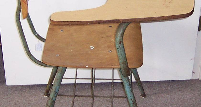 Vintage Student School Desk Hostgarcia