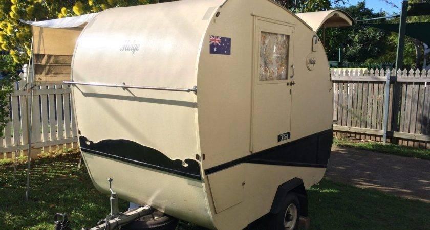 Vintage Style Teardrop Camper Trailer Aud