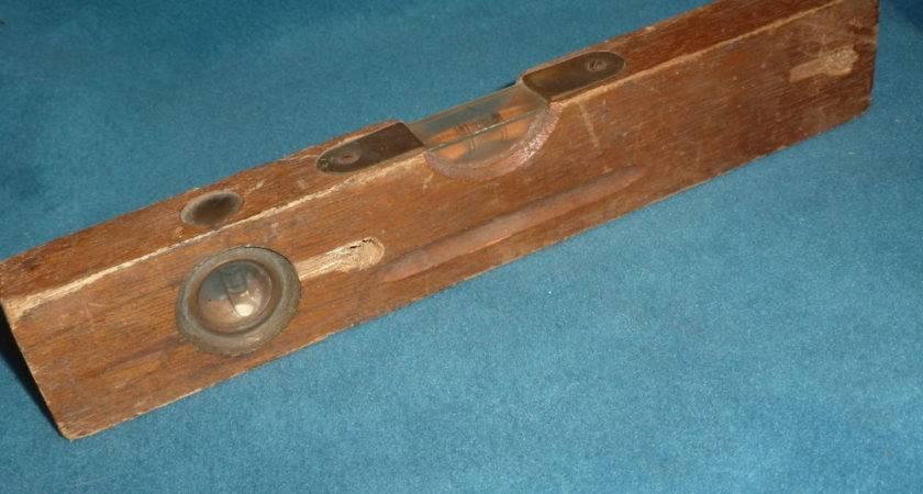 Vintage Tools Wooden Level Long Ebay