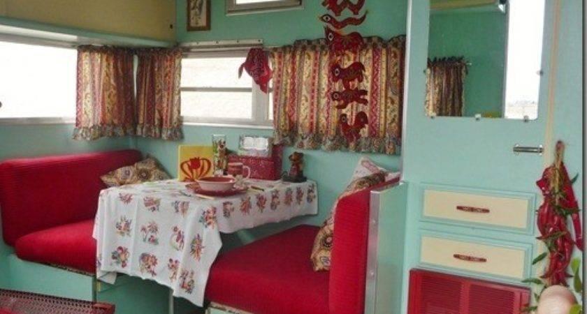 Vintage Trailer Camper Interior