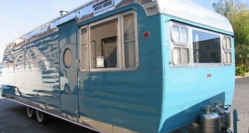 Vintage Trailer Interior Restoration Autos Weblog