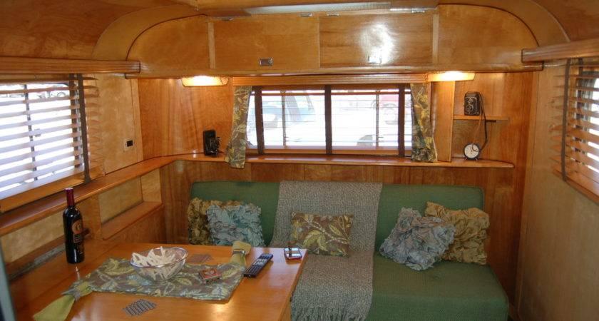 Vintage Trailer Interiors Oldtrailer