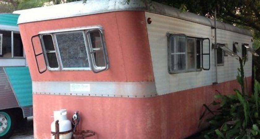Vintage Trailer Silver Dome Travel Love