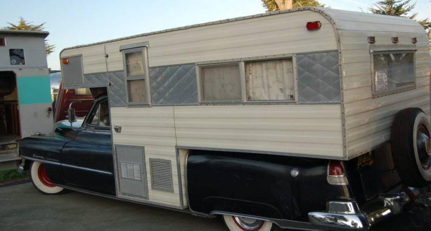 Vintage Truck Based Trailer Campers Oldtrailer