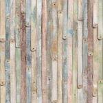 Vintage Wood Wall Mural Old Wooden