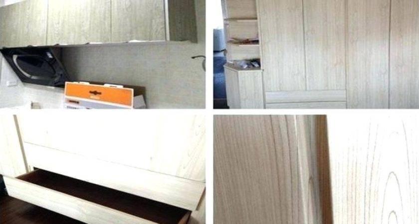 Vinyl Cabinet Doors Paint Covered Kitchen