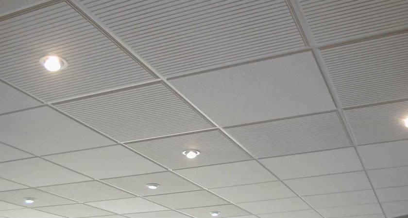 Vinyl Coated Drop Ceiling Tiles