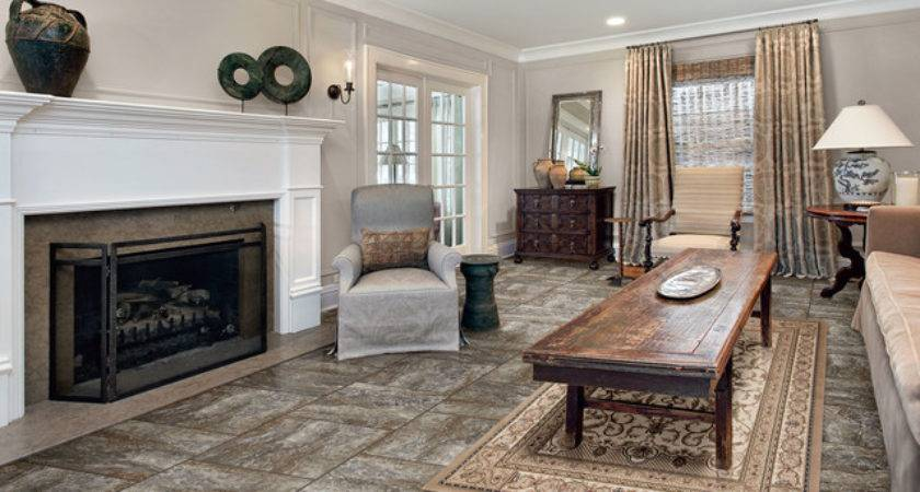 Vinyl Flooring Living Room