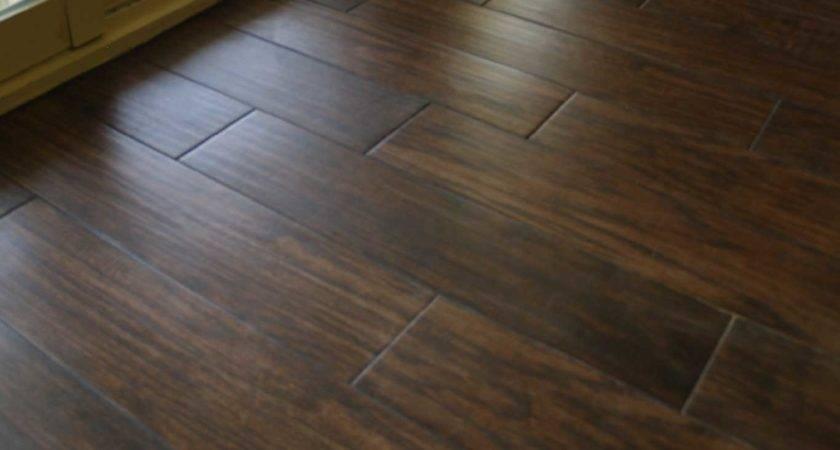 Vinyl Flooring Looks Like Ceramic Tile Wood Floors