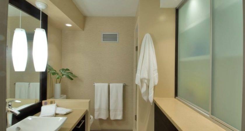 Vinyl Grasscloth Bathroom